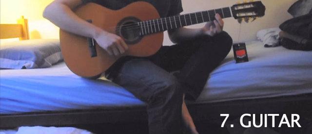 ギターの音