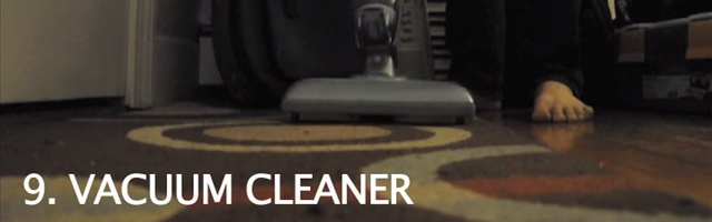 掃除機の音