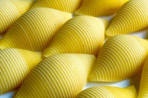 Texture made from maruzze pasta