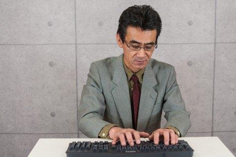 ojisan-typing