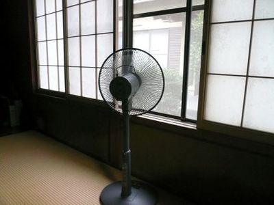 扇風機を有効活用